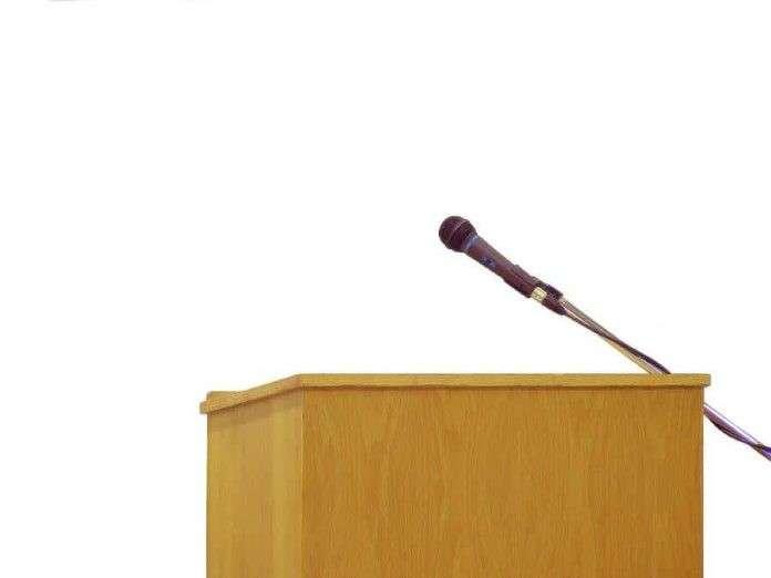 public speaking advice