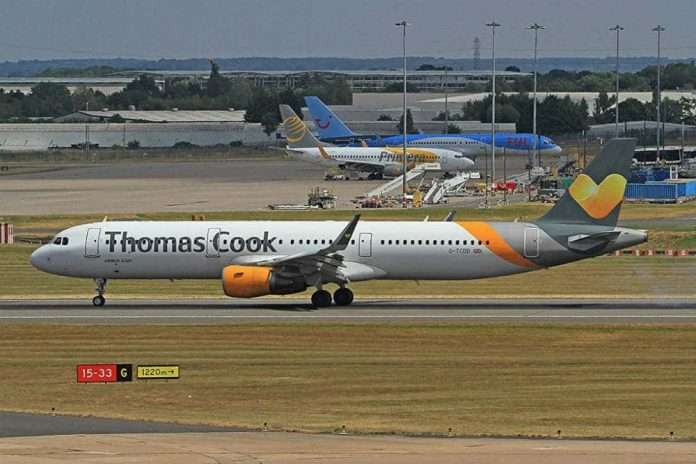 are thomas cook going bust