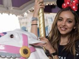 on holiday with Jade Thirlwall