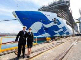 Princess Cruises celebrates major milestones for three new ships