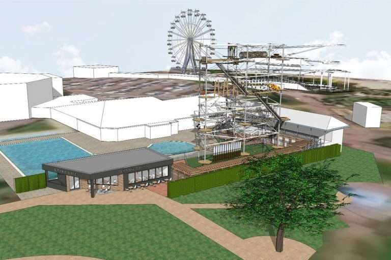 70ft high wire adventure attraction to open in Skegness This Summer