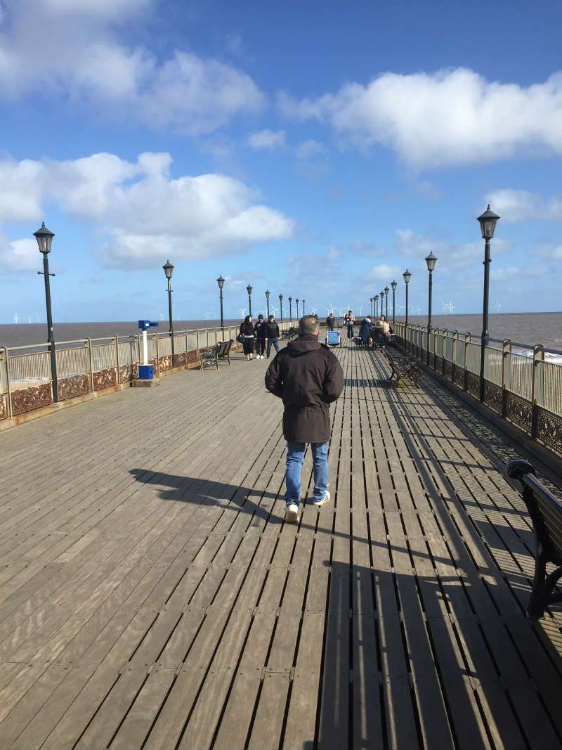 skegness pier in lincolnshire