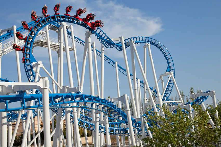 Terra Mitica Theme park spain