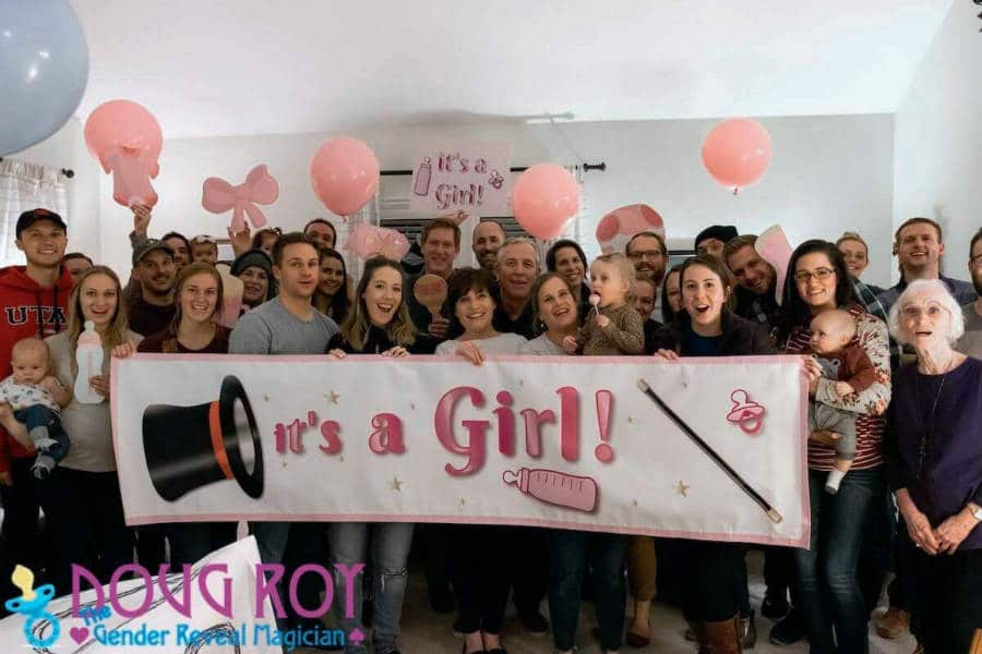 Magic Gender Reveal Party