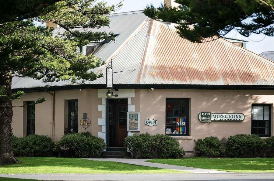 Merrijig Front Bar, Port Fairy australia