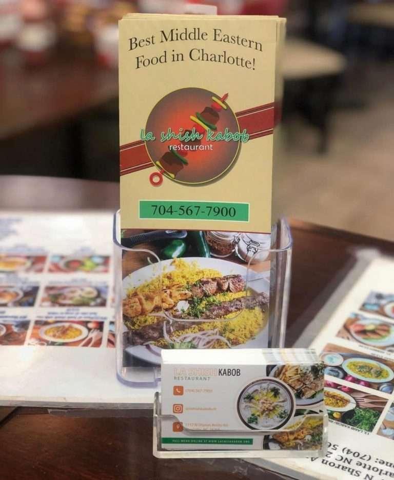 "Izzat Freitekh's ""La Shish Kabob' awarded the best restaurant in Charlotte, North Carolina"