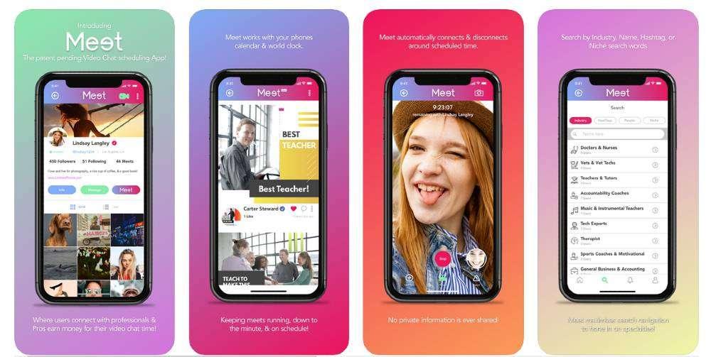 New Meet mobile app