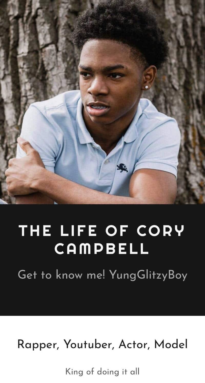 YungGlitzyBoy rapper