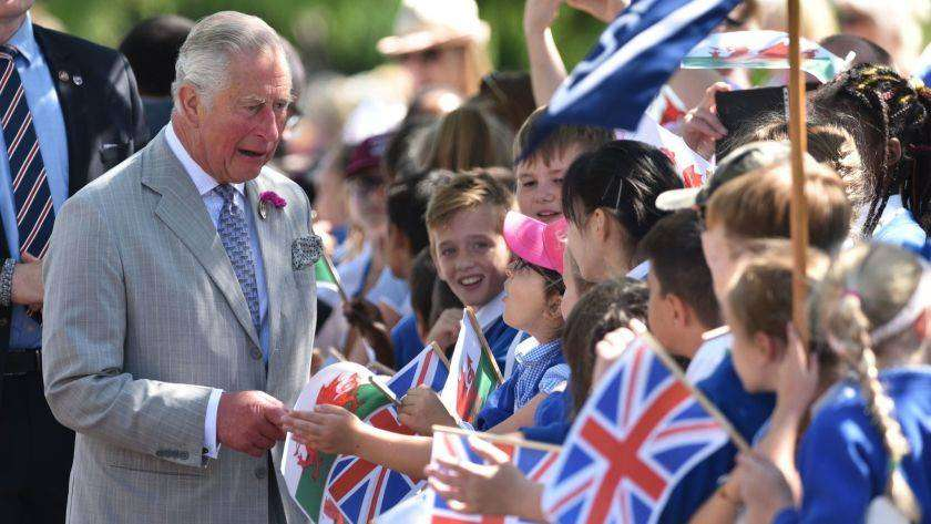 the man who wants to be king of wales