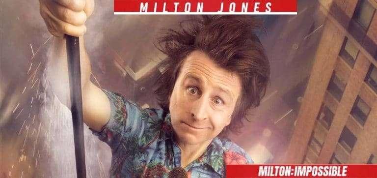 Milton Jones in Milton: Impossible Coming To Grimsby