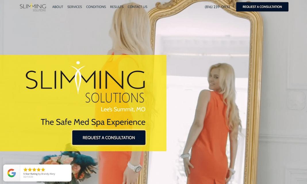 slimmin solutions website