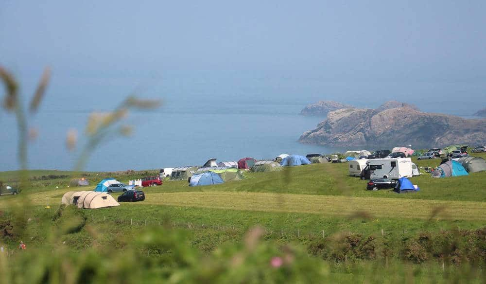 wales beach campsites