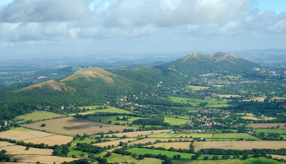 Malvern Hills walk, Worcestershire
