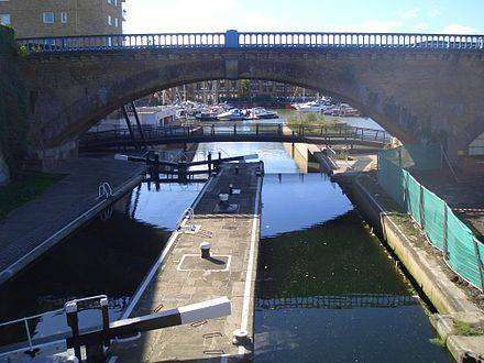 London regent canal history