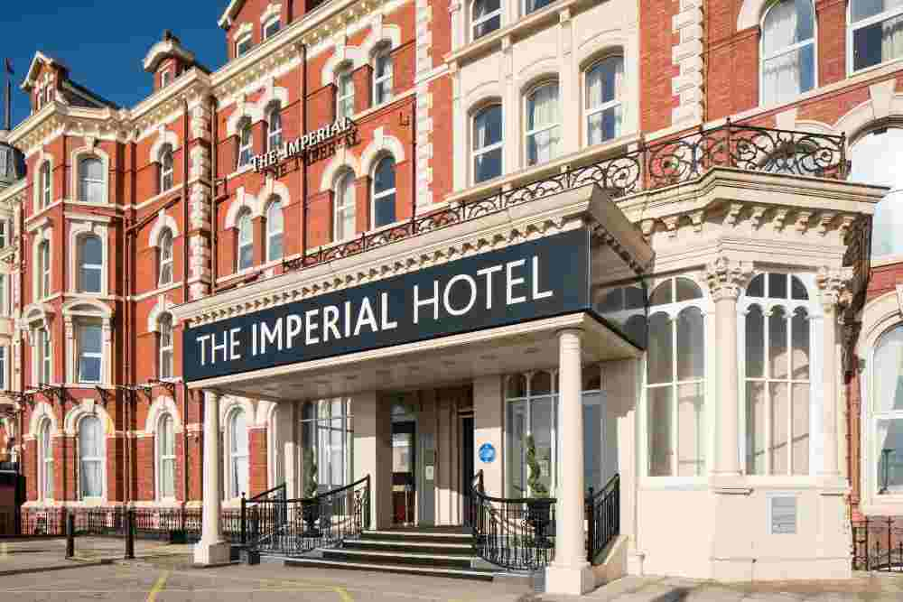 best seafront hotels blackpool