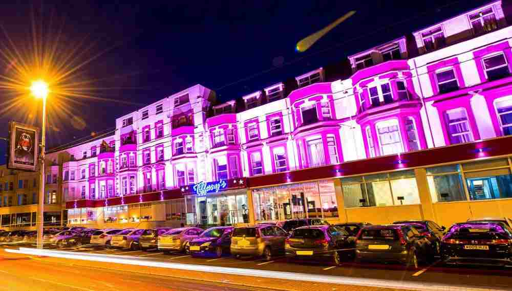 hotel on blackpool seafront