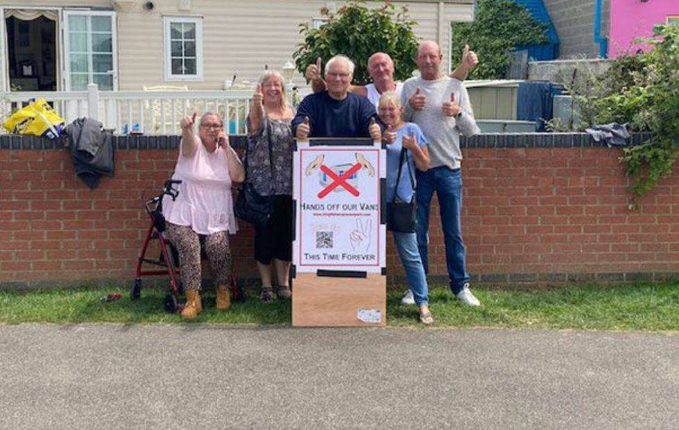 caravan owners in skegness win fight