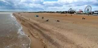best beach skegness